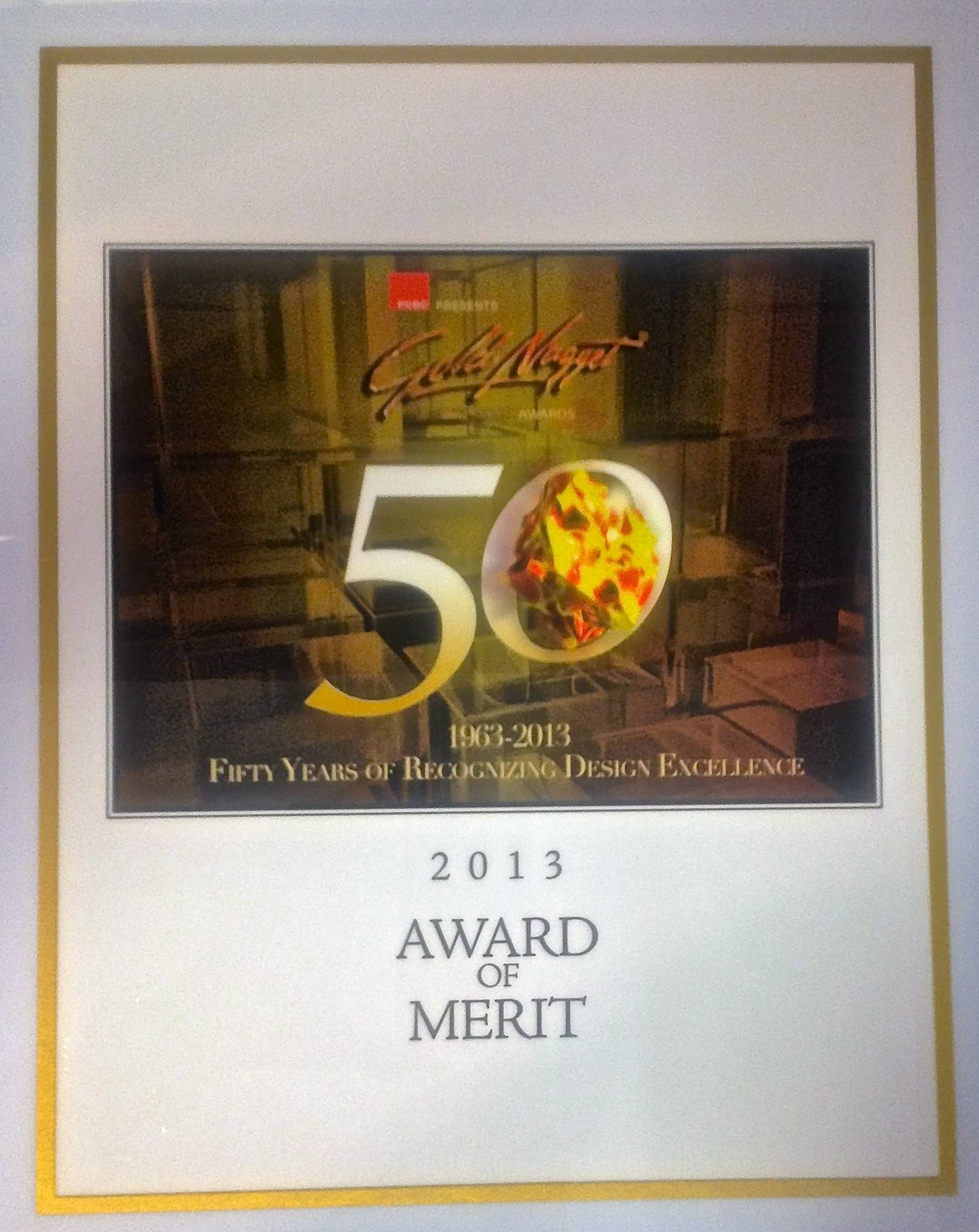 2013 Award of Merit - Best Multi-Family Housing Project