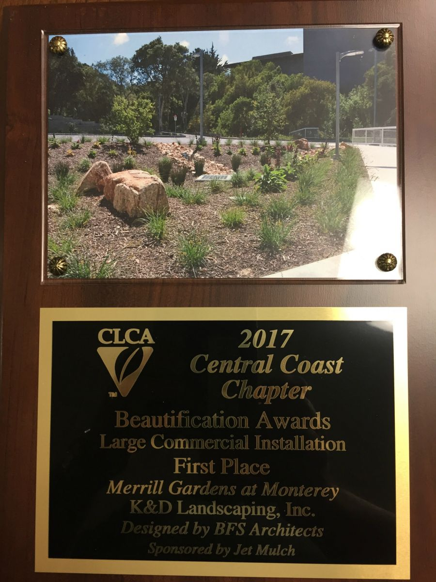 Merrill Gardens at Monterey Takes Home CLCA First Place Award